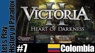 Victoria 2: History of Paradox [Alternate History] - Colombia - Part 7
