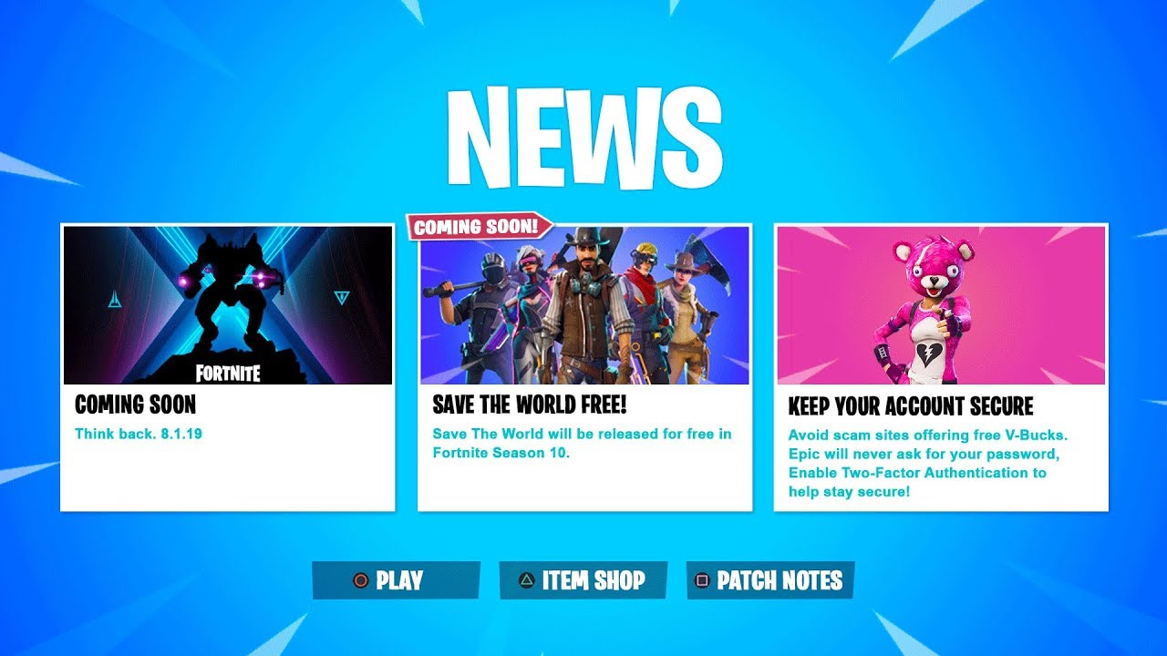 """*NEW* FREE Fortnite """"Save The World"""" RELEASE DATE + NEWS ..."""