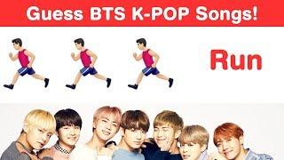 BTS Songs Emoji Challenge! Guess K-Pop Songs