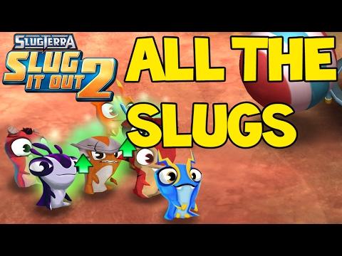 ALL 23 SLUGS IN SLUGTERRA SLUG IT OUT 2 ! Gold chest opening !  (iOS Gameplay #20)