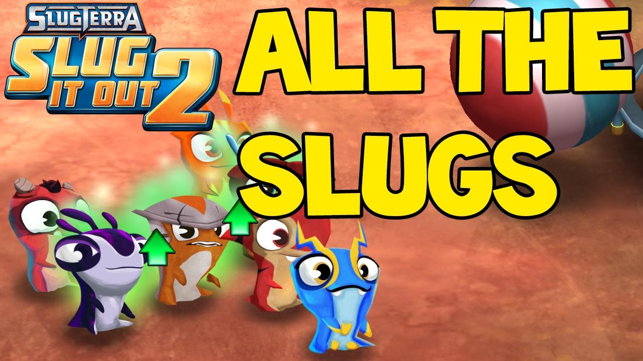 all 23 slugs in
