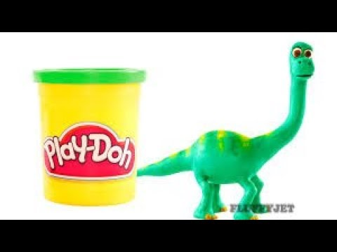 The Good Dinosaur Play Doh Stop Motion