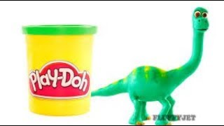 The Good Dinosaur Play Doh Stop Motion thumbnail