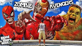 The AVENGERS Become ZOMBIES In GTA 5 (Hulk, Spiderman, Iron Man)