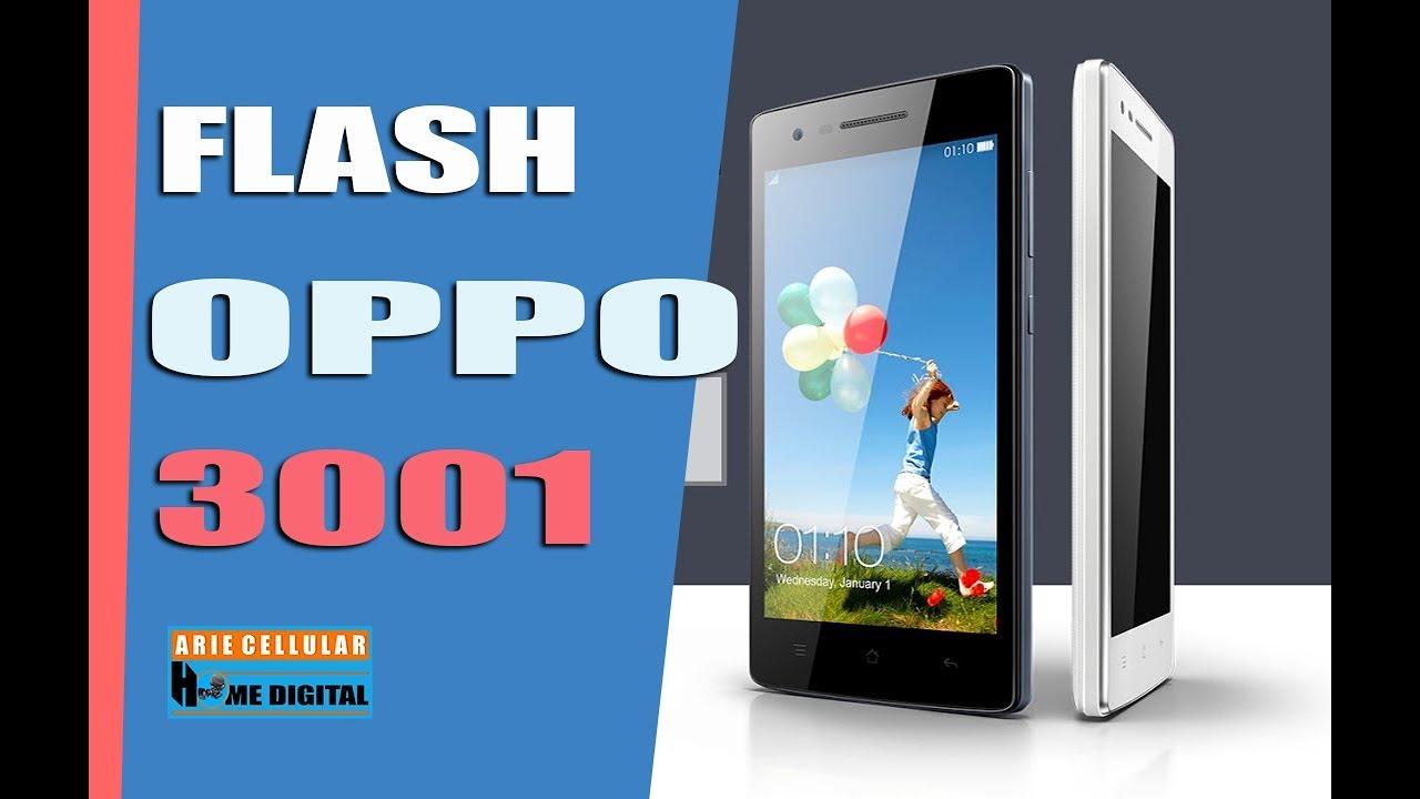 Cara Flash Hp Oppo 3001 Youtube