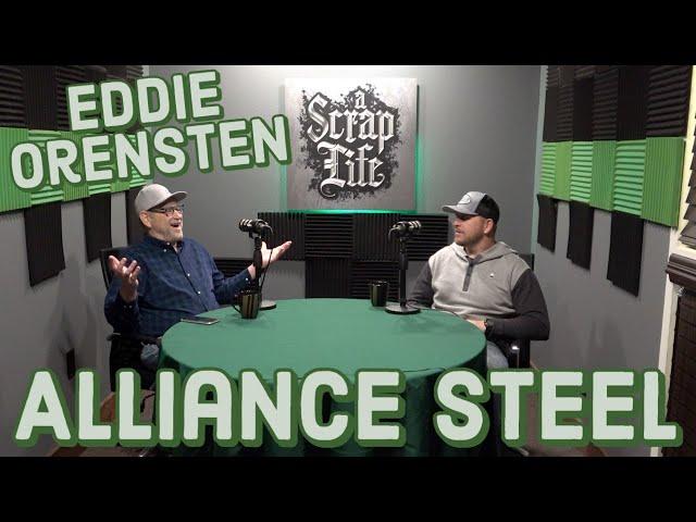 Eddie Orensten with Alliance Steel
