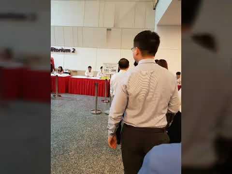 Singapore citizenship ceremony at NUS