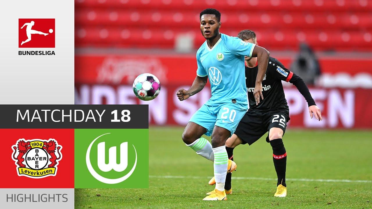 Download Bayer 04 Leverkusen - VfL Wolfsburg | 0-1 | Highlights | Matchday 18 – Bundesliga 2020/21