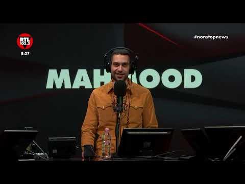Mahmood a Non Stop News del 12 febbraio 2019