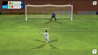 Dream League Soccer - Real Madrid vs Marsel (Penalty kick)
