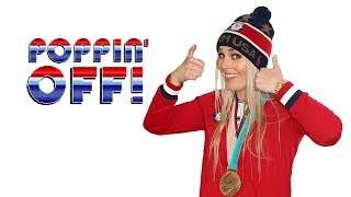 Best Skiier in the WORLD | #PoppinOff with Lindsey Vonn