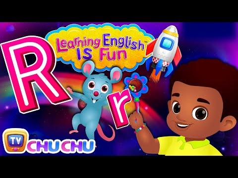 ChuChu TV Learning English Is Fun™ | Alphabet R Song | Phonics & Words For Preschool Children - วันที่ 30 Jul 2018