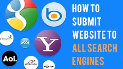 How to Submit Website to Search Engines | Submit Site to all Search Engine| SEO Tutorials