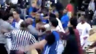 lamelo-ball-spire-fight-breaks-out-clears-bench-after-crazy-dunks