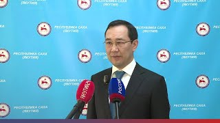 Брифинг Айсена Николаева об эпидемиологической обстановке в регионе на 26 апреля