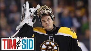 Tuukka Rask Talks Game 7 Stanley Cup Finals Loss & Bruins Recent Dominance Over Leafs | Tim And Sid