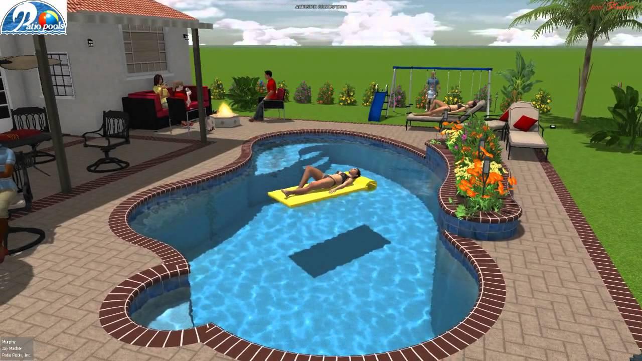 Patio Pools Tampa Florida Est. 1979 Custom Inground Swimming Pool Builder /  Contractor
