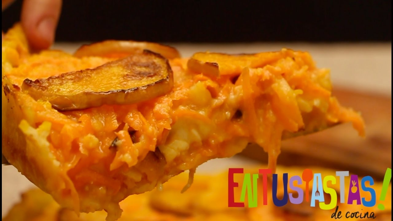 Tarta Zanahoria Y Calabaza Entusiastas De Cocina Youtube