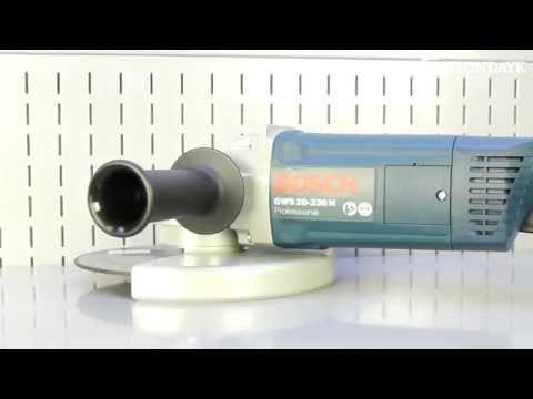 Видео обзор: Углошлифмашина 230мм BOSCH GWS 20-230 H