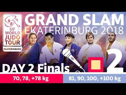 Grand-Slam Ekaterinburg 2018: Day 2 - Final Block