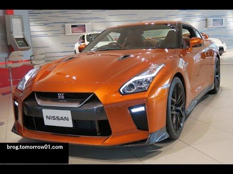 Nissan Gt R 2017 Model Year An Specs Orange 3