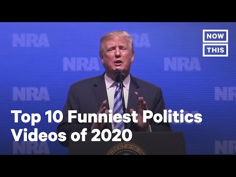 'We Need Brain': Top 10 Funniest Politics Videos of 2020 | NowThis