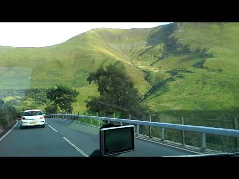 A Drive Through the Welsh Mountains