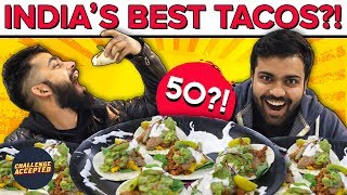 CRAZY Taco Eating Challenge | Best Mexican Street Food | EatTreat