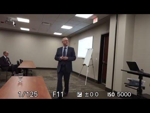 Seminar with Dr. Peter McCornick