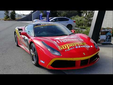 Ferrari 488GTB Fast Dash At Highland Motorsport Part By Drive Master Page