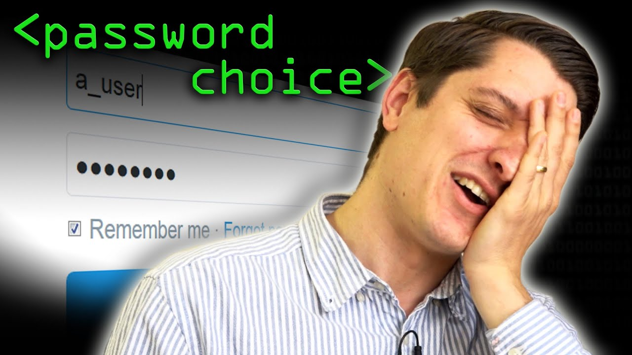 Password Choice - Computerphile