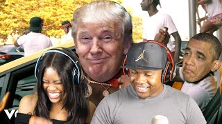 If Trump Was A New York Drill Rapper! (like Pop Smoke, CJ, Fivio Foreign & more) REACTION