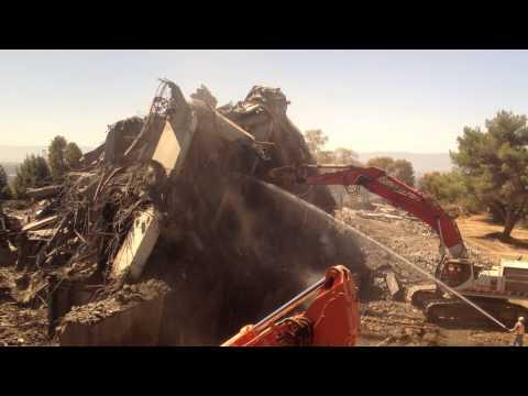 Warren Hall Post-Implosion