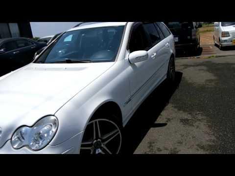 KS AUTO EXPORTS 2003 Mercedes Benz C-class wagon LHD