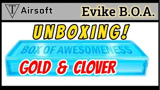 Unboxing Evike Box of Awesomeness Gold and Clover