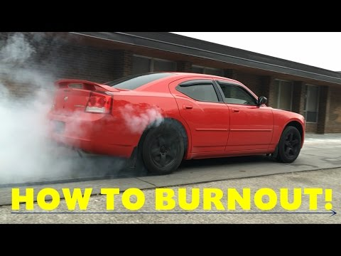 How-To: Burnout In An Automatic Transmission RWD/FWD - Full Tutorial