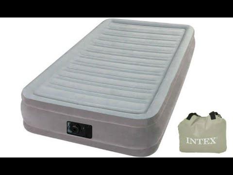 Надувная кровать Intex 67766 (99x191x33см)