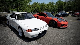 homepage tile video photo for FIRST PULL IN THE R32 GTR!!