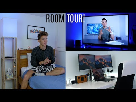ULTIMATE TECH ROOM TOUR 2018!