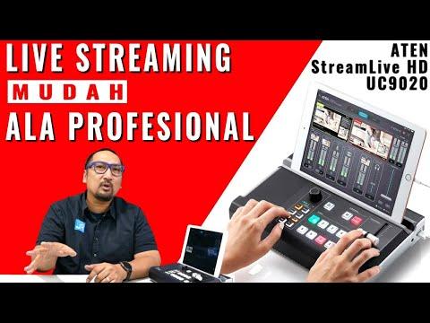 Live Streaming Ala Profesional Dengan Mudah: Review ATEN StreamLive HD UC9020 - Bahasa Indonesia