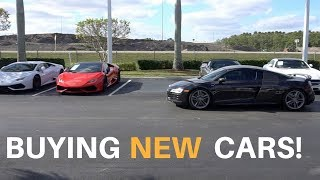 Buying New Cars! - Really! | Audi R8, Nissan GTR, AMG GTS, And Porsche GT4