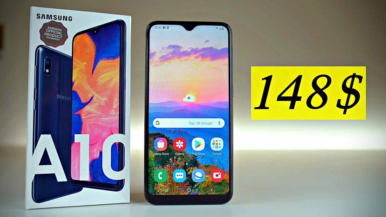 Samsung Galaxy A10 Great Low-Budget Choice