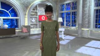 Edge by Jen Rade Short Sleeve Lace Dress with Exposed Zipper with Jennifer Coffey