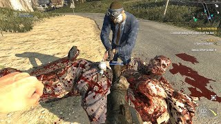 Dying Light The Following GOLD Weapons & Co Op Fun Ultra Settings
