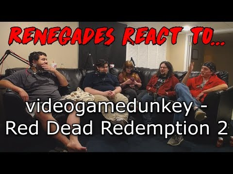 Renegades React to... videogamedunkey - Red Dead Redemption 2 (dunkview)