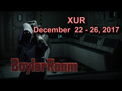 Destiny 2: Xur Location and Items Guide - December 22 - 26, 2017 (Week 16)