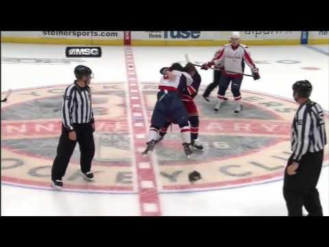 Alex Ovechkin - Brandon Dubinsky fight 12/12/10