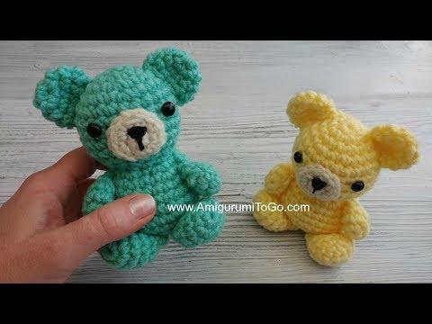 Amigurumi Crochet Bear Pattern by Little Bear Crochets | 360x480
