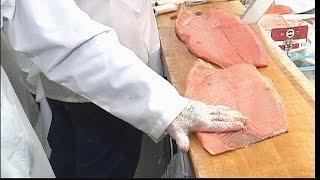 Last Jewish lox slicer at Zabar's