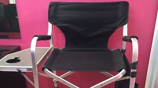 Makeup Artist Directors Chair Review
